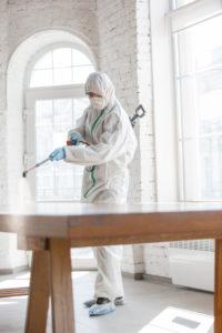 ¿Por que debes de desinfectar tu casa?